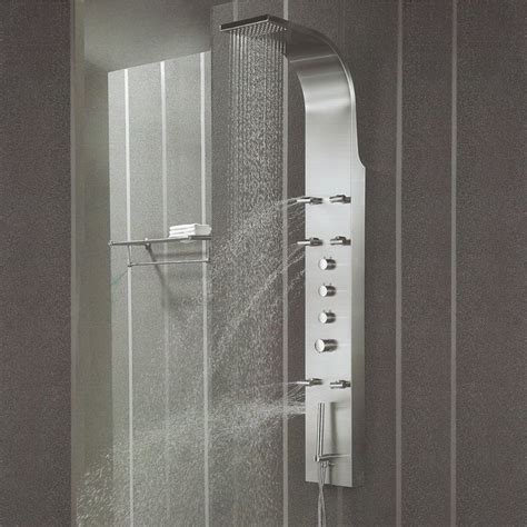 A Guide To The Best Shower Panels  A Great Shower. Kitchen Crown Molding. Bathroom Vanity Sizes. Gazebo Penguin. Grey Floor Tile. Wolf Range Prices. Bioethanol Fireplace. Arched Curtain Rod. Cool Living Rooms