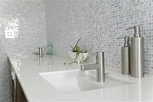 Salle De Bain Marbre Blanc : bsrv plan de vasque en pierre marbre granit quartz ~ Nature-et-papiers.com Idées de Décoration