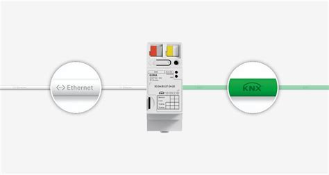 knx ip router for the knx system