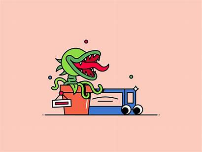 Motion Graphic Horrors Inspiration Inspirations Gillde Dribbble