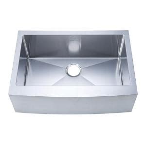 home depot kitchen sinks stainless steel stufurhome nationalware apron farmhouse stainless steel 30 8404