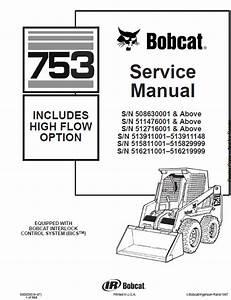 Bobcat 753 And 753hf Skid