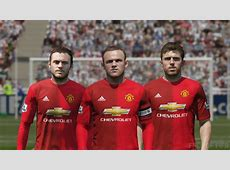 FIFA 16 Manchester United New Home Kit 1617 YouTube