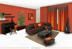 Amazing of Great Brown Interior Color Schemes With Interi