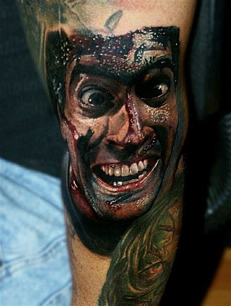 412 Best Images About Horror Tattoos On Pinterest Zombie