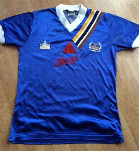 Derby County Away football shirt 1984 - 1985. Sponsored by ...
