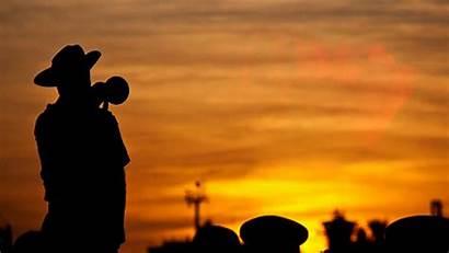 Bugle Anzac Taps Bugler Calls Remembrance Last