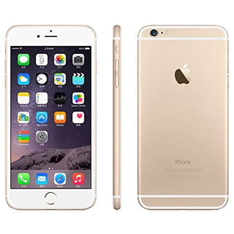 iphone 6 plus for apple iphone 6 plus unlocked cellphone gold 16 gb