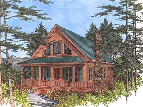 Driftwood Spring Cottage Home Plan House Plans More