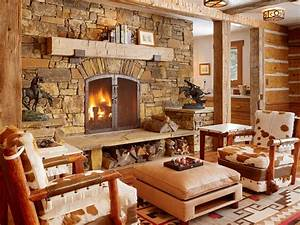 Get Cozy! - A Rustic Lodge Style Living Room Makeover