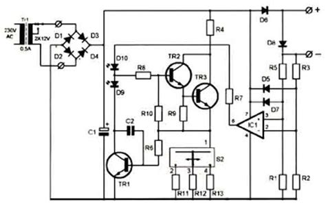 Super Battery Charger Circuit Diagram