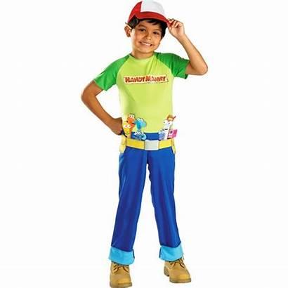 Handy Costume Manny Mandy Builder Toddler Halloween