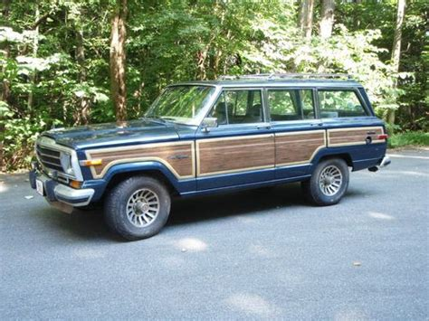 jeep wagoneer 1990 find used 1990 jeep grand wagoneer in matthews north