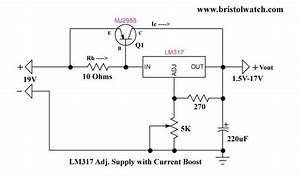 Lm317 Current Boost Circuit