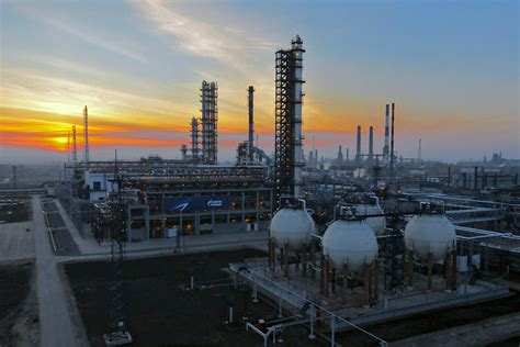 Petroleum Gas by Gazprom Boosting Efficiency Of Associated Petroleum Gas