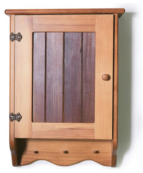 Wood Bathroom Wall Cabinets by Wooden Bathroom Wall Cabinet With Timber Front Panel