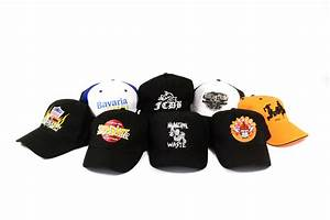 Embroidered & printed baseball caps, trucker hats and beanies