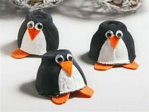 Basteln Mit Papierrollen : osterdeko basteln ausgefallene deko aus eierschachteln basteln geburtstag zirkus pinguin ~ Buech-reservation.com Haus und Dekorationen