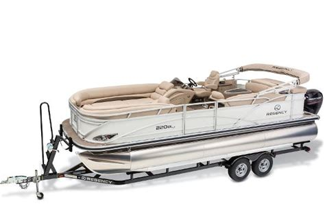 Bass Pro Shop Used Pontoon Boats by Regency 220 Dl3 Pontoon Boats New In Tn Us