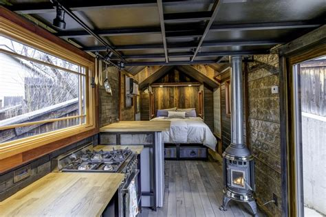 Stunning Interiors For The Home - this tiny house boasts luxury features and eclectic decor choices curbed