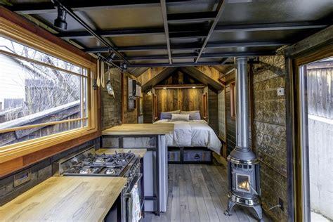luxurious single level tiny house home design garden