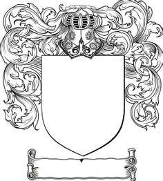 coat  arms template worksheet  conference theme