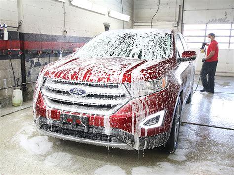 hand car wash shammys auto detailing