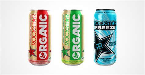energy sorten rockstar energy drink goes organic bio und neue sorten