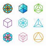 Geometry Sacred Icon Iconos Geometria Packs Pack