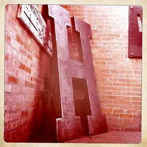 6 feet tall of h the letter h pinterest With 6 foot tall letters