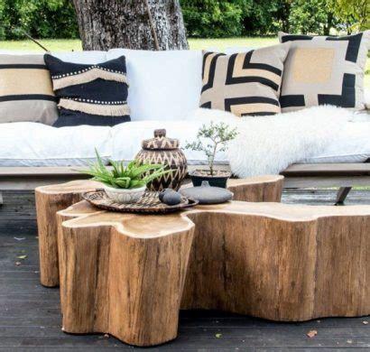table basse tronc d arbre projet diy simple 224 r 233 aliser