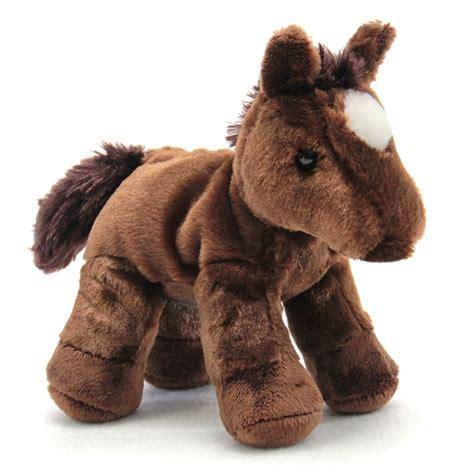 chestnut  stuffed brown horse  aurora  stuffed safari