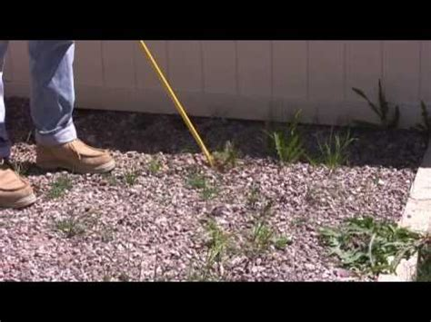 ergonica turbo weed twister  weeds  rocky landscaping