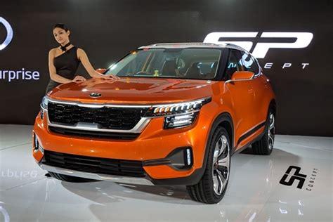 Kia Sp Concept At Auto Expo 2018