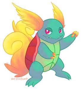 Pokemon Fusion Venutortle