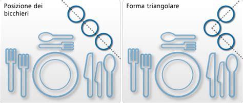 Posizione Bicchieri In Tavola by Posizionare Correttamente I Bicchieri Sul Tavolo Come