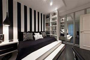 black and white bedroom wall designs 2017