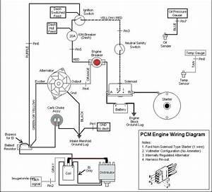 Mercruiser 5 7 Alternator Wiring Diagram