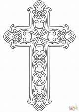 Coloring Cross Celtic Pages Adults Printable Ausmalbilder Designed Clip Mark Malvorlagen Kreuze Supercoloring Kostenlose Kreuz Zum Ausmalbild Ausdrucken Keltisches Styles sketch template