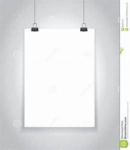 template for hanging pictures - hanging paper sign stock illustration image 40497714