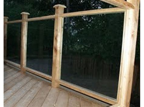 Types of Deck Railing (with Pictures) - eHow