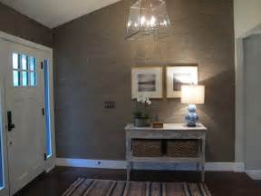 bathroom window covering ideas gray grasscloth wallpaper cottage entrance foyer interiors