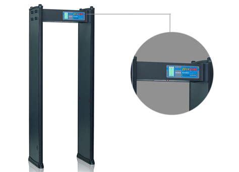 Full Color Portable Metal Detector Multi Zone Body