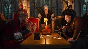 King Radovid Playing Gwent Against Imperator Emhyr Var