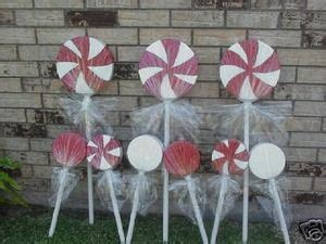 plastic candy cane yard decorations large plastic canes for the yard willy wonka land decoration 9 lollipops