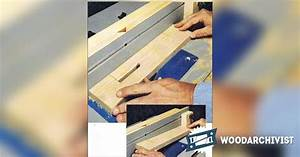 Cutting Slots on a Router Table • WoodArchivist