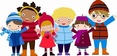 Winter Children Illustration Clipart Christmas Cold Weather