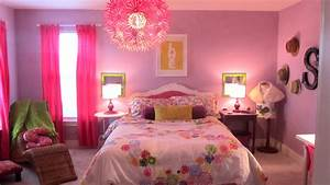 Bedroom Beautiful Girl Decoration Idea With Girlie Image