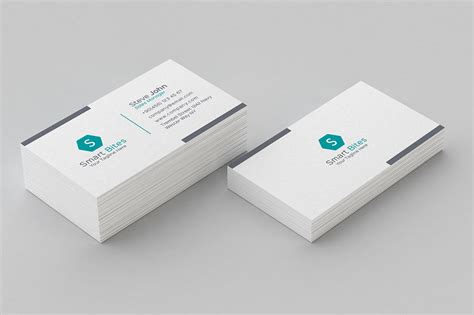 minimal pattern business card  business card templates