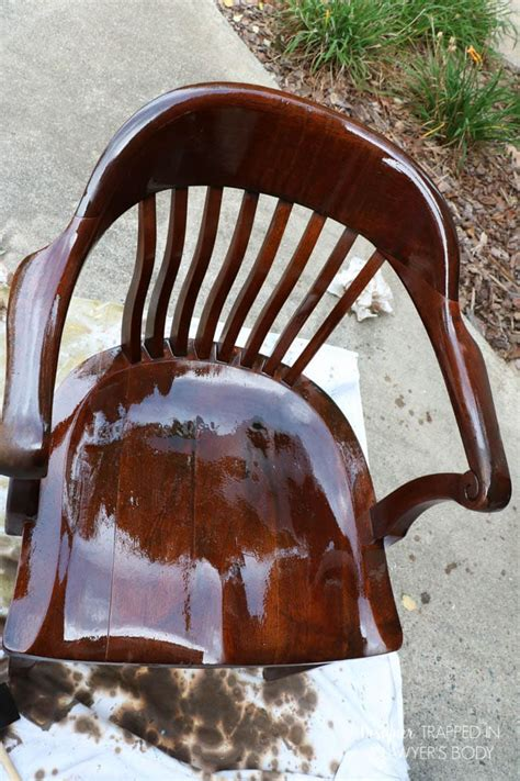 refinish furniture without stripping how to refinish wood chairs the easy way